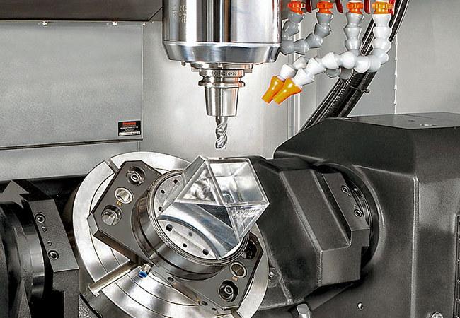 5-axis CNC Machining Aerospace Machining