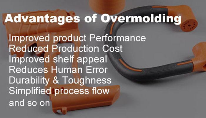 Advantages of Overmolding