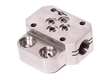 CNC-钢部件