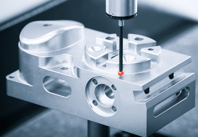 Dimensional CMM inspection Aerospace machining