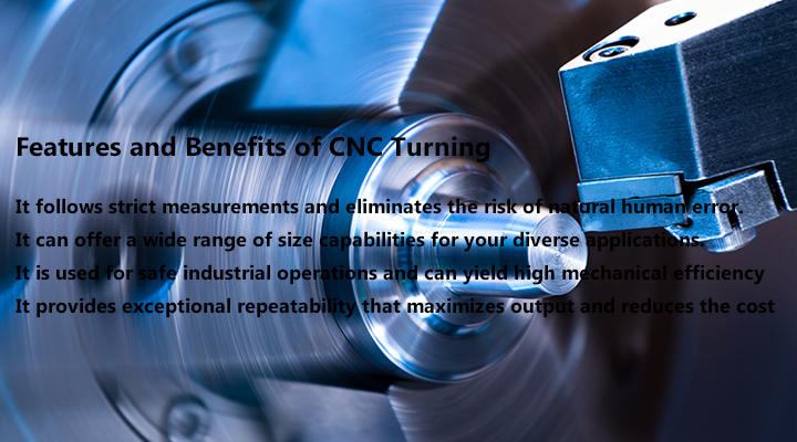 Features and Benefits of CNC Turning