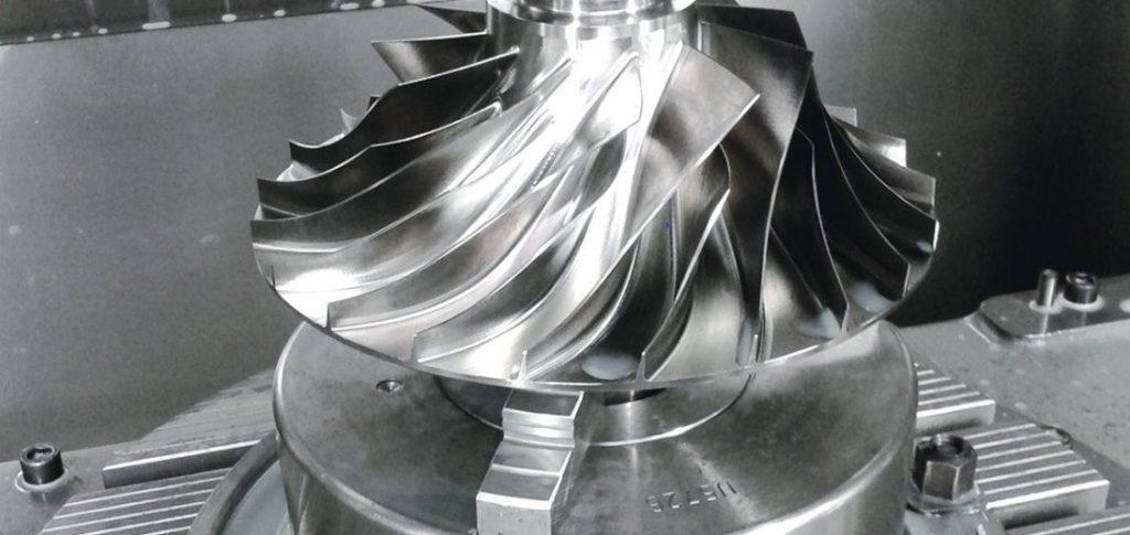 Figure 14 – CNC Machined Aerospace Part
