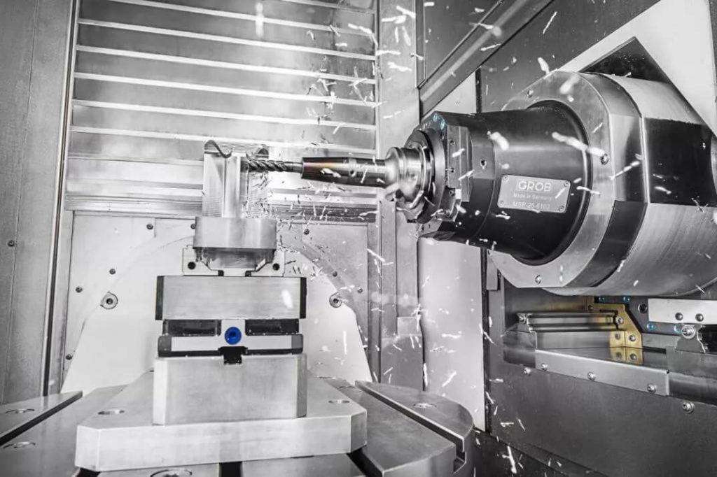 Figure 9 – Horizontal CNC as a part of Aerospace Machining