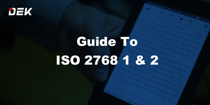 Guide to General Tolerance ISO 2768 1 ISO 2768 2 Standard PDF
