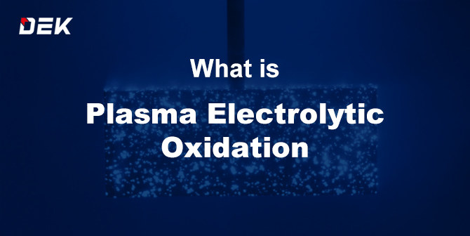 Plasma electrolytic oxidation