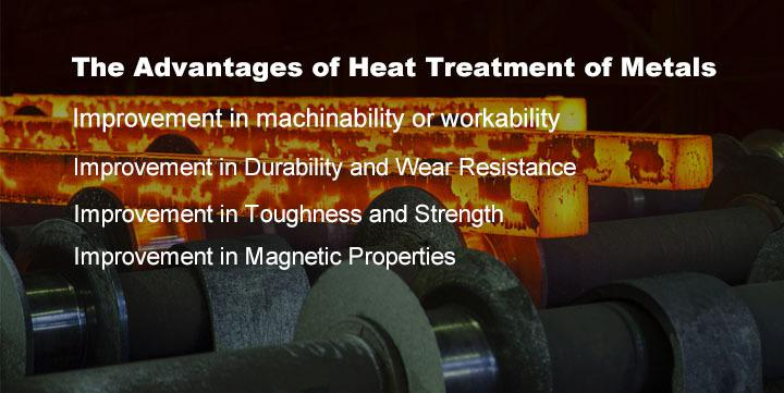 The Advantages of Heat Treatment of Metals