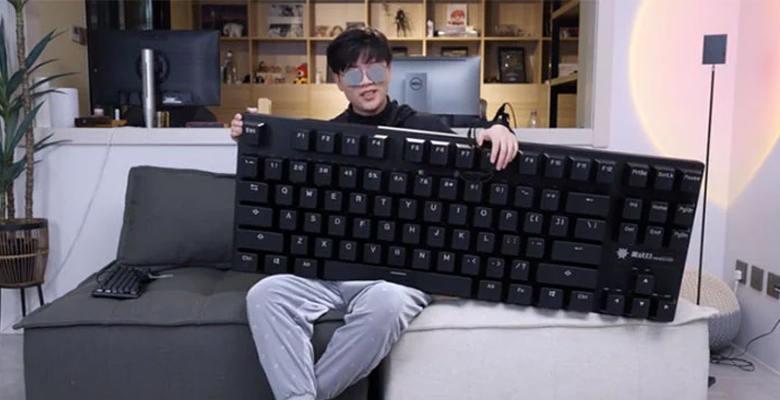 anodized aluminum keyboard size